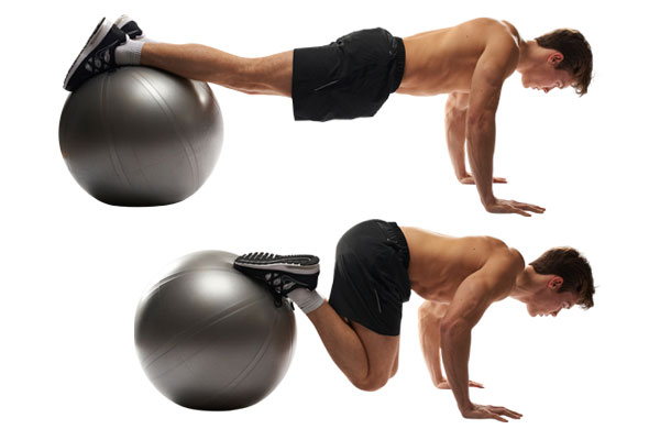 Stability Ball Tuck