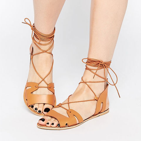 gallery-1454623469-asos-fuerta-lace-up-sandals-tan