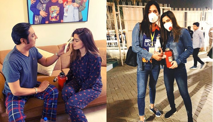 Bulbulay team is taking proper precautions during shoot