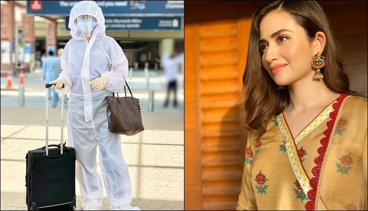 Sana Javed salutes healthcare professionals for their hardwork during the pandemic