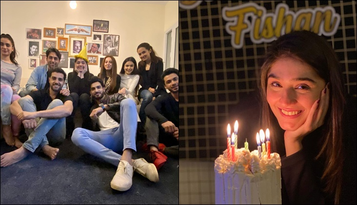 Dur e Fishan celebrates birthday with her Bharaas family