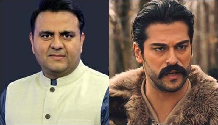 Federal Minister Fawad Chaudhry just met the protagonist of Kurulus: Osman